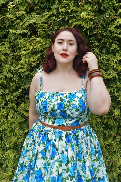 Rosewall Kelly dress Hearts and Found custom made