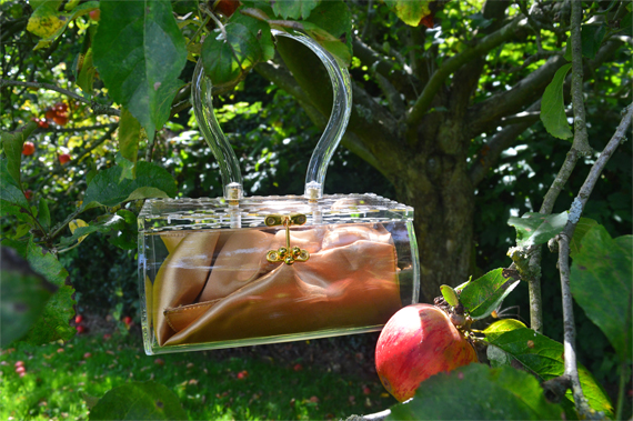 kooki de lou lucite bag reproduction