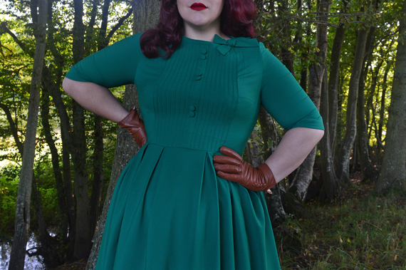 Green Madison dress Hell bunny discount code