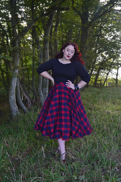 Voodoo Vixen May full swing circle skirt