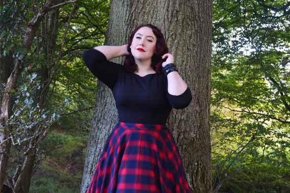 Voodoo Vixen May full swing circle skirt