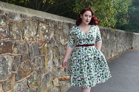 Hell Bunny Holly Berry 50s dress