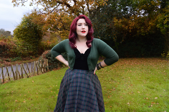 Doll Me Up Sugar black top peebles 50s skirt