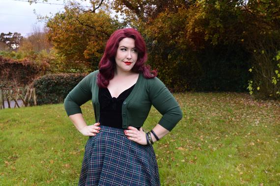 Doll Me Up Sugar black top peebles 50s skirt