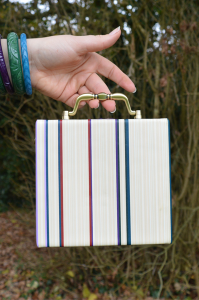 Vendula London quirky books shaped bag