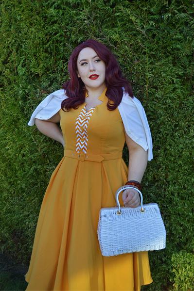 Allegra yellow dress by Miss Candyfloss