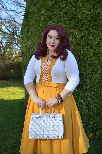 Allegra yellow dress by Miss Candyfloss