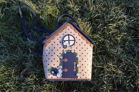 Birdhouse Backpack Bag Vendula London