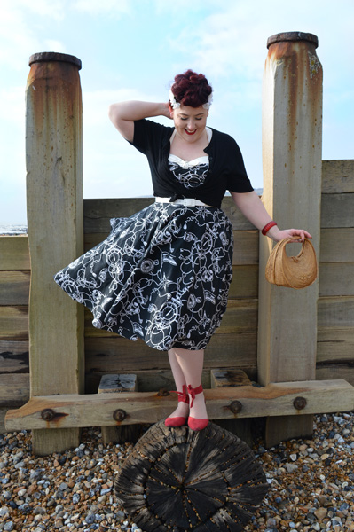 cfab00bb1e Hell Bunny 50s Mistral dress Black Loretta cardigan plus size discount code  AMYMAY20!%