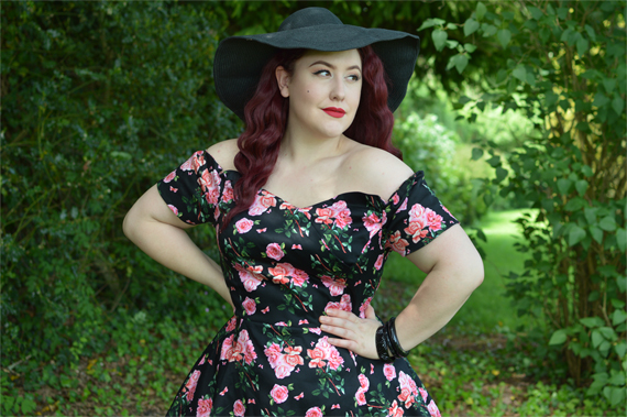 Lady V London Beautiful Roses Liliana dress