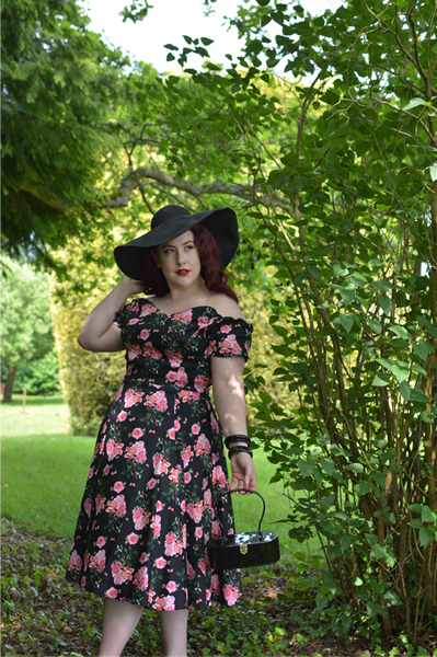 Lady V London Beautiful Roses Liliana dress