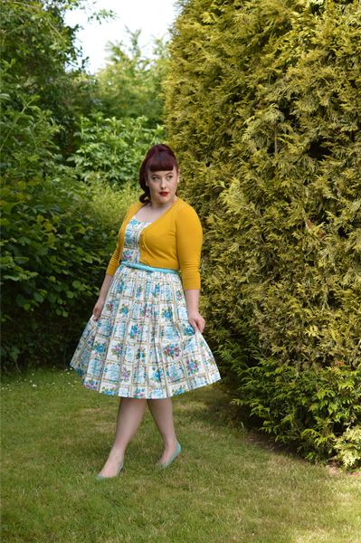 Retrospec'd enchanted fleur gigi dress miss amy may plus size
