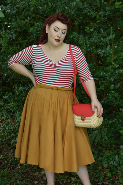 Miss Amy May Hogwarts vintage style Gryffindor student pinup plus size inspired Harry Potter Cosplay disneybound