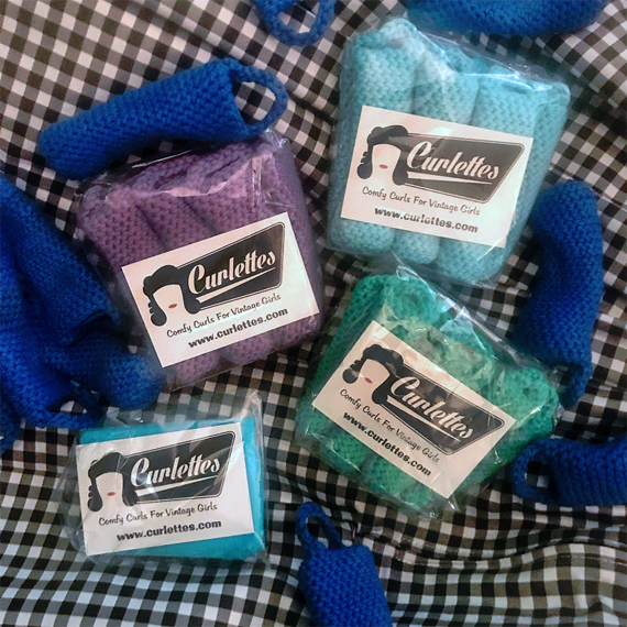 Curlettes The Comfy Curls for Vintage curls review pictures Miss Amy May