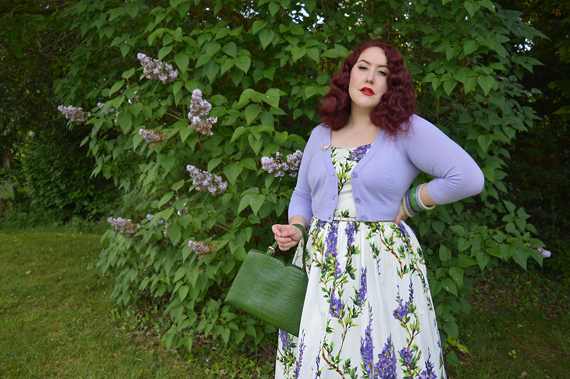 Green Indiscreet bag by Banned Retro Miss Amy May review