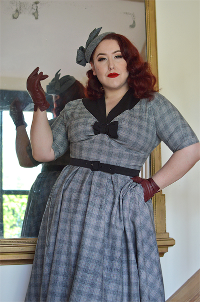Maeby Lou Dolman swing dress Dear Marilyn collection Miss Candyfloss gifted fit size review Miss Amy May