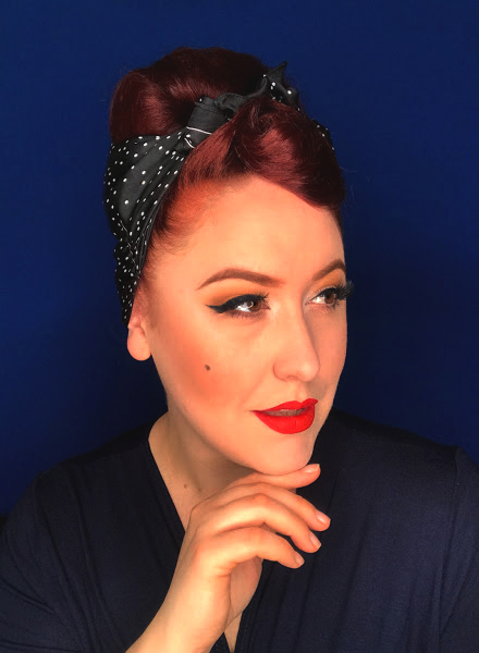 Miss Amy May Easy Fake Beehive vintage style hair styles